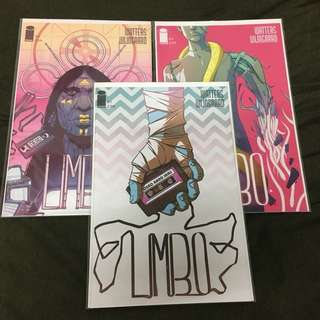 Limbo 1 to 3 Image Comics Book Pulp Fiction