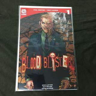 Blood Blister 1 Aftershock Comics Book