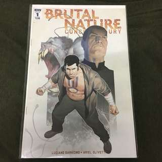 Brutal Nature Concrete Fury 1 IDW Comics Book Animal Power