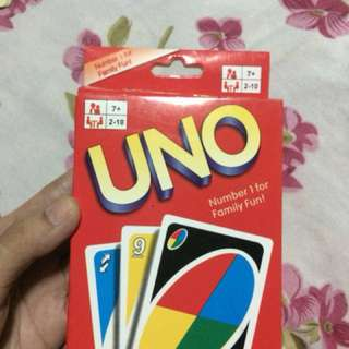 Uno play cards