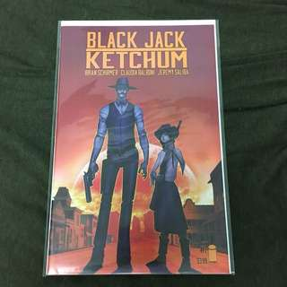 Black Jack/ Ketchum 1 Image Comics Book Wild West Movie