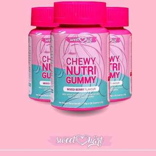 Hair Supplement (Sweethart Chewy Nutri Gummy)