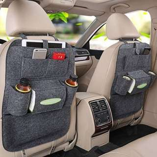 Back seat pocket organizer