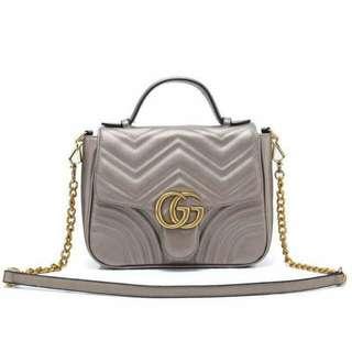 Gucci GG Marmont Silver Color