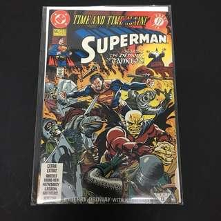 Superman 55 DC Comics Book Justice League Movie
