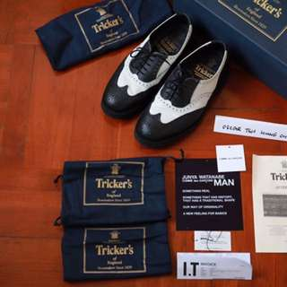 Tricker's x Junya Watanabe Man Leather shoes