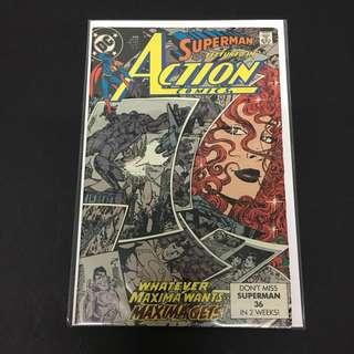 Action Comics 645 DC Comics Book Superman Movie Justice League