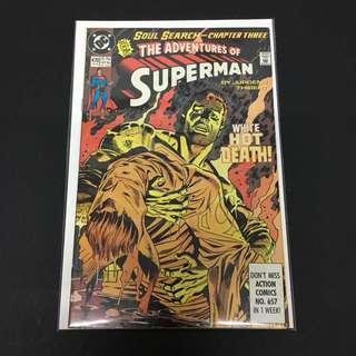 Adventures of Superman 470 DC Comics Book Justice League Movie