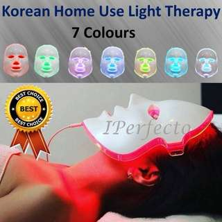 Korean Best LED Therapy Mask 7 Colours (Home Use)