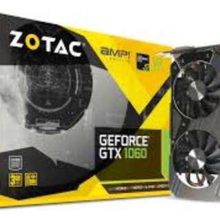 Zotac(amp) 1060 3/6 GB