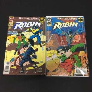 Robin 8 & 9 DC Comics Book Batman Movie Justice League