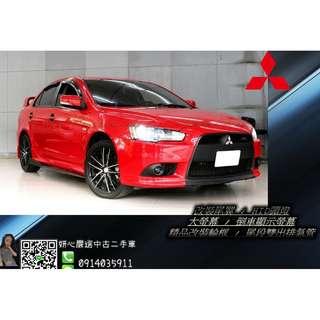 2011 MITSUBISHI 三菱 紅