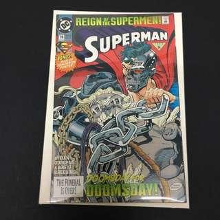 Superman 78 DC Comics Book Justice League Movie