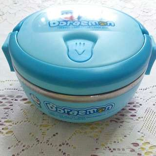 Brand New With Box doraemon Thermal Insulated Lunch Box