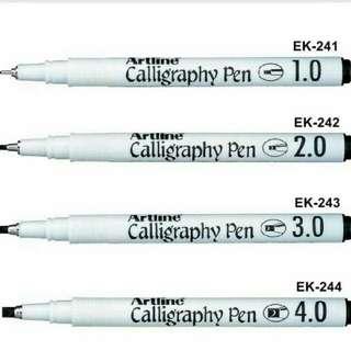Artline Calligraphy Pen
