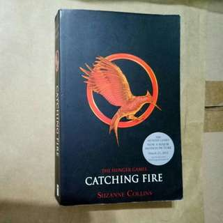 Catching fire - the Hunger Games by Suzanne Collins