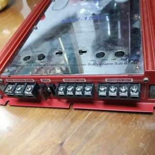 Alpine v12  mrv-1507 car amplifier