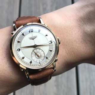 Longines anniversary automatic watch (Solid gold)
