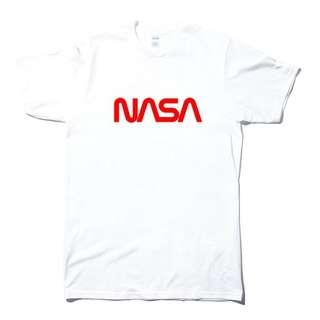 🚚 NASA Red 短袖T恤-白色 美國太空總署 進口商品