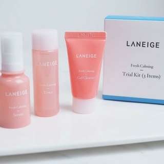 Laneige Fresh Calming Trial 3kit