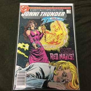 Jonni Thunder 2 DC Comics TV Movie