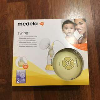 Medela breast pumping