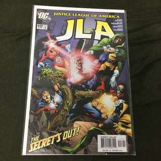 JLA 117 DC Comics Book Justice League Movie Superman