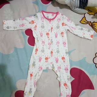 preloved mother care sleepsuit 0-3 months ORI