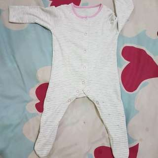 preloved mothercare ORI sleepsuit for baby up to 3 months