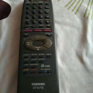 Toshiba tv remote control