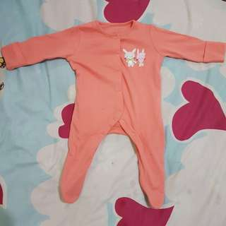 preloved sleepsuit mothercare ORI for babies up to 3 months