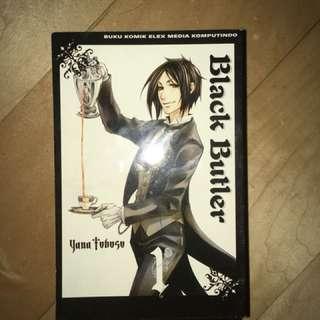 BLACK BUTLER MANGA edisi 1-9