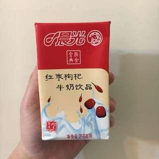 紅棗枸杞奶
