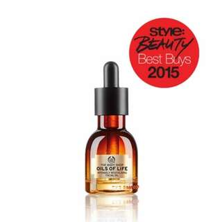 The Body Shop Oils Of Life Intensely Revitalization Facial Oil
