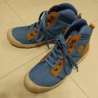 Aigle eu 41行山鞋 全新 藍色