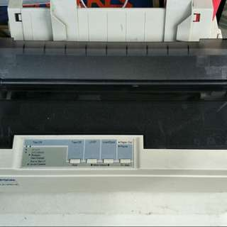 Printer Dot matrix  LX w/ continous form