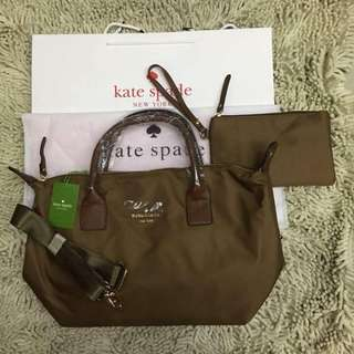 Katespade bag with pouch