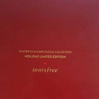 Innisfree Winter skin care puzzle