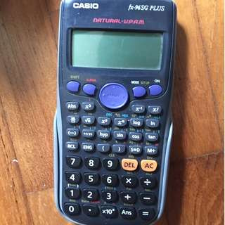 Casio Fx-96SG Plus