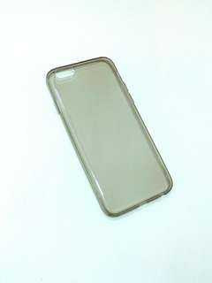 Iphone 6 6s 透明灰軟膠手機殼 clear plastic phone back case
