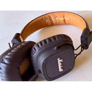 Marshall Major Headphones (Pristine Condition)