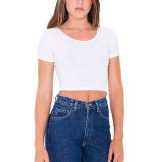 crop top (white)