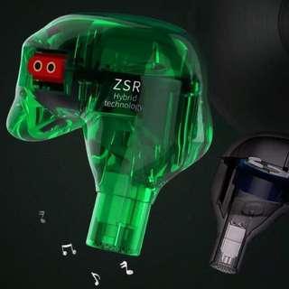 新品ZSR 6圈鐵高級HiFi耳機
