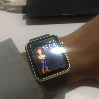 Apple watch series 1 42MM Gold cocoa