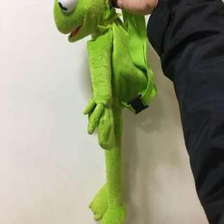 可愛 迪士 小童 青蛙 🐸 背包