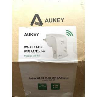 Aukey wifi repeater/router 750mbps
