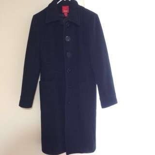 Esprit Long 100% Wool Trench Coat SZ-Small
