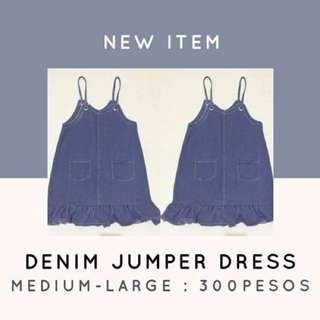 Denim Jumper Dreas