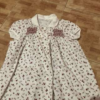 Floral dress or top