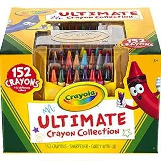 Crayola Ultimate Crayon Case, 152 Count